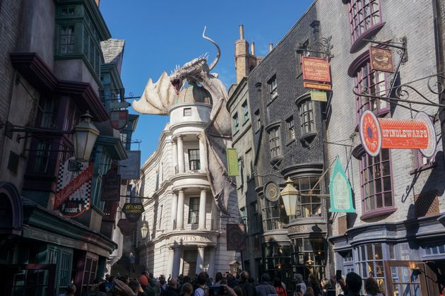 The 'Harry Potter' Ride Of Your Dreams Might Be In The