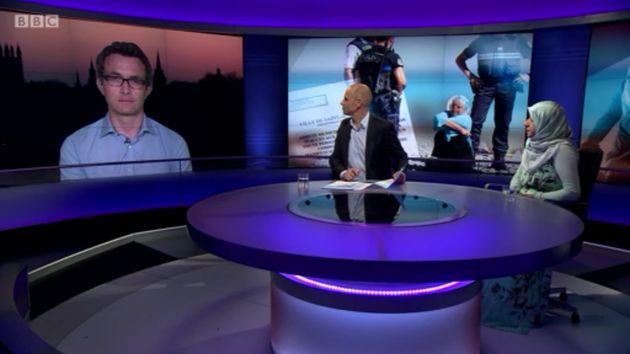Journalist Douglas Murray (left) disagreed withJanmohamed's