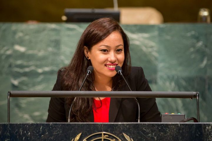 <strong>Jolly Amatya, 26,</strong> <strong>Nepal</strong><br><i>Jolly was appointed 'Youth Chair' for the 2016 Youth Assembly