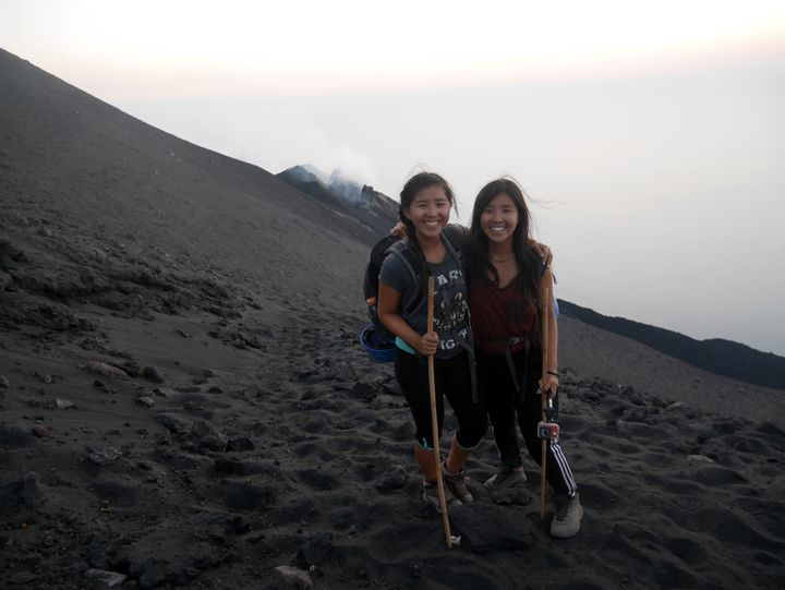 """Taken on the climb up <a href=""""http://www.laughtraveleat.com/europe/a-night-hike-up-stromboli/"""" target=""""_blank"""">Stromboli</a>"""