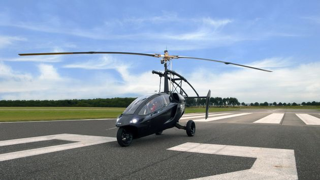 The PAL-V ONE Claims To Be The World's First Commercial Flying
