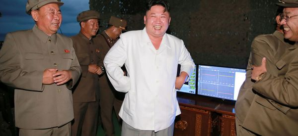 Kim Jong Un Calls North Korea Sub Missile Launch 'Greatest Success'