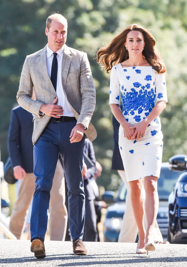 The Duchess Of Cambridge And Her Trademark Style Are Back In