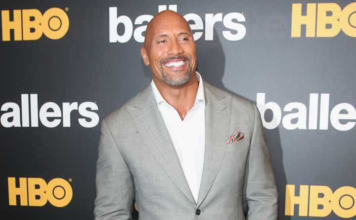Dwayne Johnson attends the HBO Ballers Season 2 Red Carpet Premiere and Reception on July 14, 2016 at New World Symphony in M