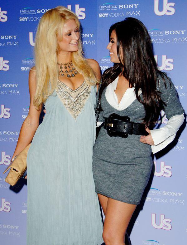 Paris Hilton and Kim Kardashian during US Weekly's Hot Hollywood: Fresh 15.