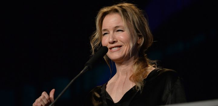 Renee Zellweger onstage at the Austin Music Awards on March 16, 2016.