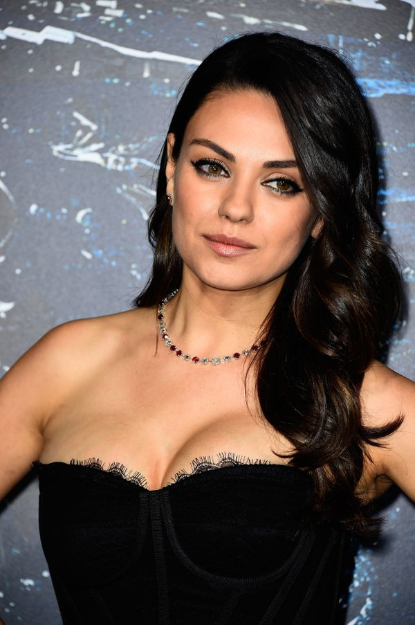 """While promoting """"Bad Moms"""" in 2016,<a href=""""http://www.huffingtonpost.com/entry/mila-kunis-to-breastfeeding-shamers-if-"""