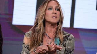 """Sarah Jessica Parker participates in the """"Divorce"""" panel during the HBO Television Critics Association summer press tour on Saturday, July 30, 2016, in Beverly Hills, Calif. (Photo by Richard Shotwell/Invision/AP)"""