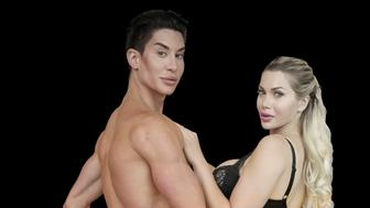 Justin Jedlica 35 and Pixee Fox 26 have had more than 350 cosmetic surgery procedures