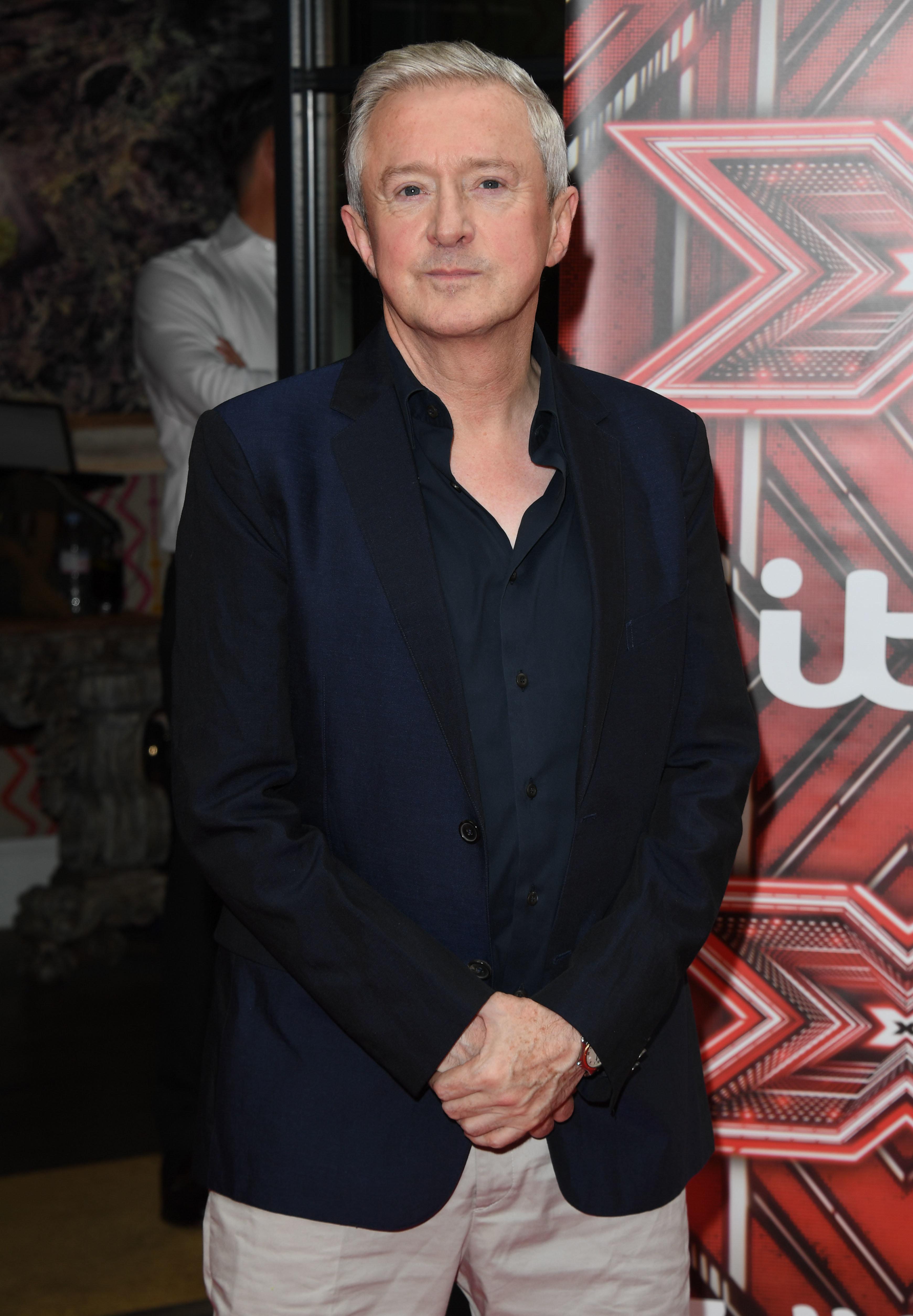 Louis Walsh at the 'X Factor' press