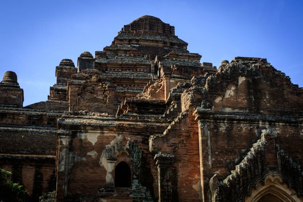 A general view of Dhammayangyi temple after earthquake in ancient Bagan city.