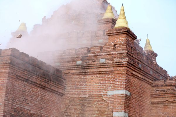 A powerful 6.8 magnitude earthquake struck central Myanmar on August 24.
