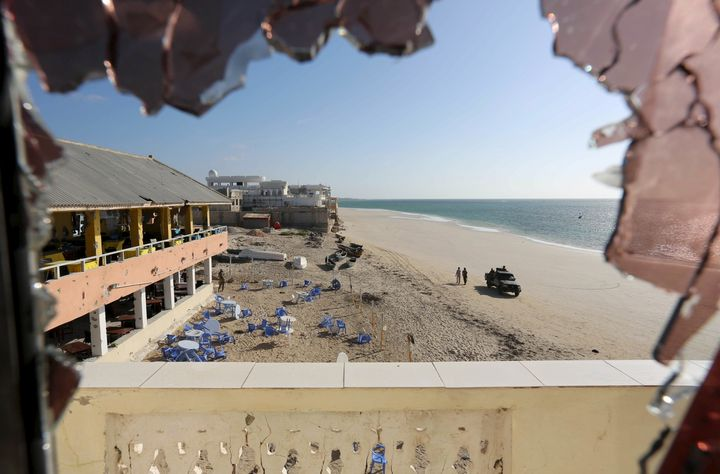 Al Shabaab militants claimed an attack on Banadir beach restaurant at Lido beach on Thursday. Pictured here,government