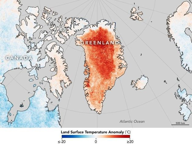 Surface temperatures for April 2016 compared to the 20012010 average for the same month were hotter than...