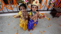 18 Captivating Photos Of Kids Dressed Up As Hindu Gods And