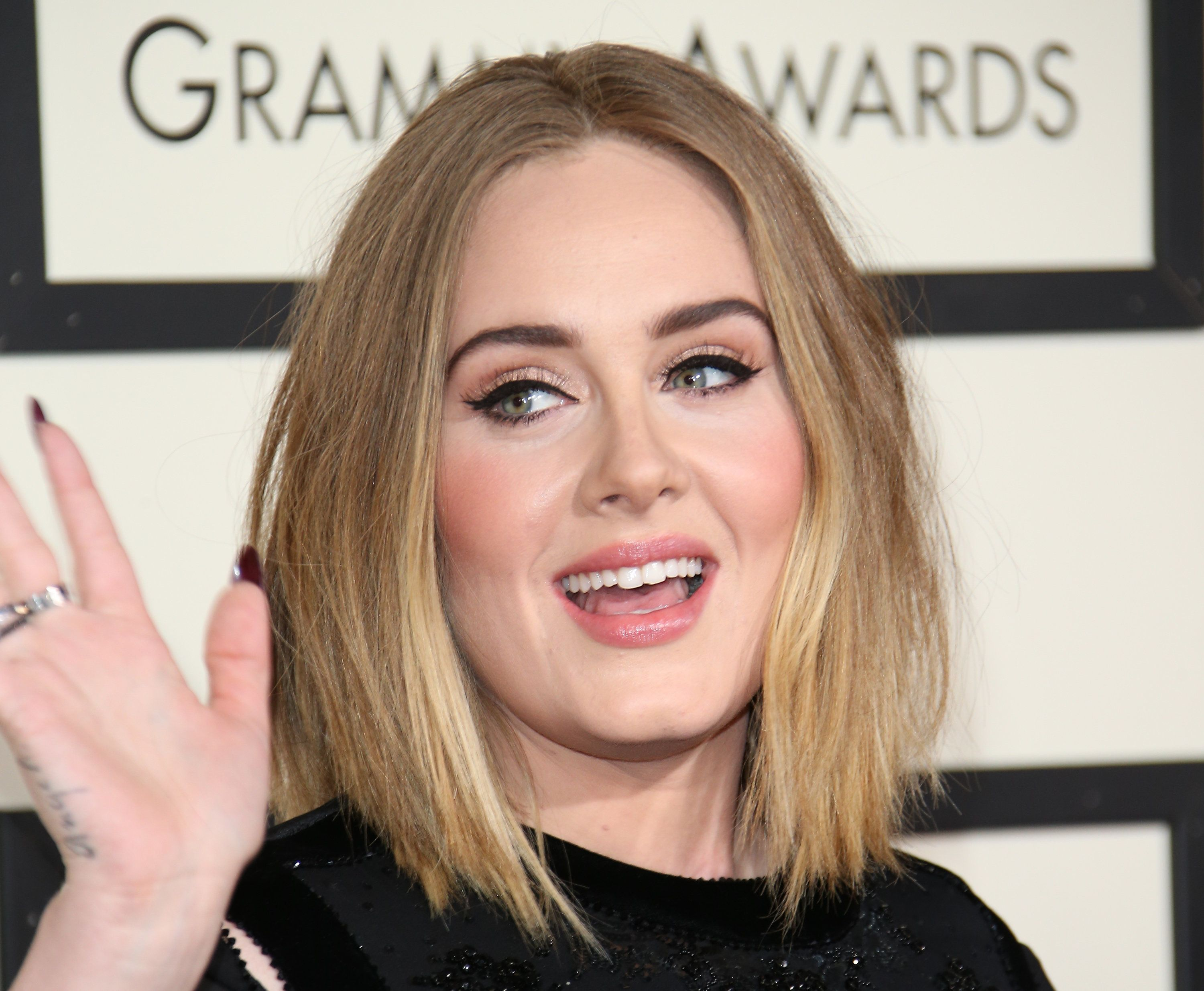 """<a href=""""http://www.huffingtonpost.com/entry/adele-breastfeed-video_us_56f797bfe4b0143a9b487321"""">Adele opened up</a> about he"""