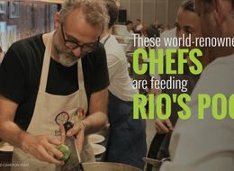 These World-Renowned Chefs Are Feeding Rio's Poor