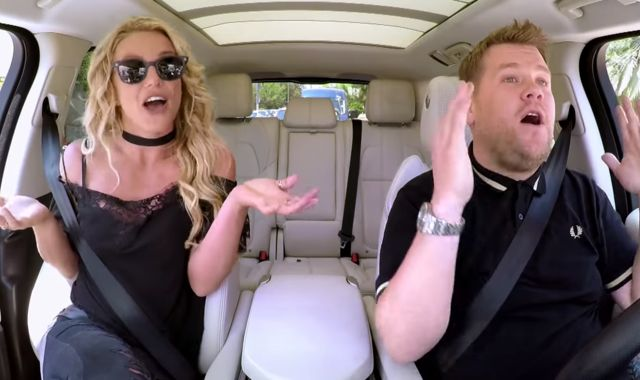 Britney Spears Singing Karaoke To Britney Spears Will Drive You