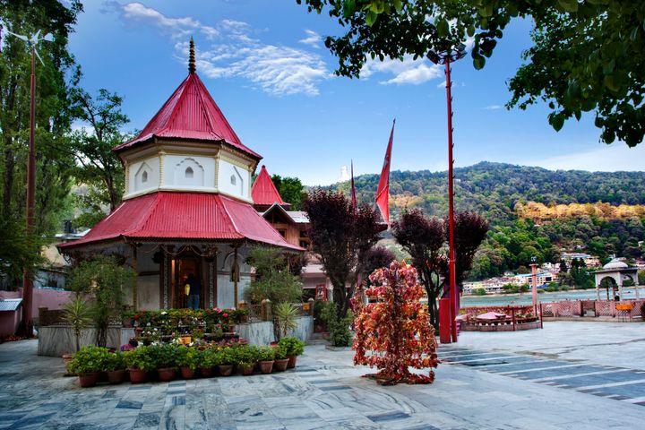A temple in Nainital.