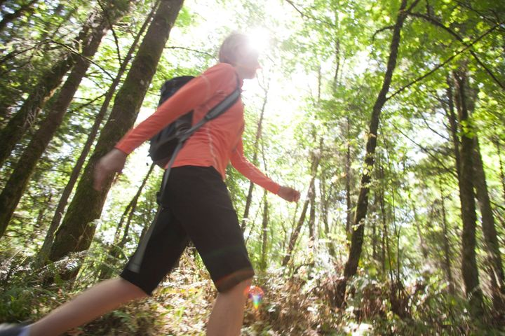 Taking a walk is one of the ways to silence negative thoughts that can cause homesickness.