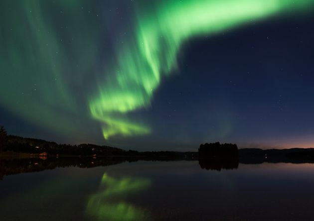 Lawnmower Triggers Nationwide Northern Lights