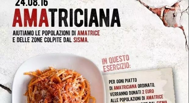 The campaign by Paolo Campana asking the restaurant industry of Italy to help raise money for the region