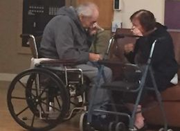 Elderly Couple Torn Apart After 62 Years Of Marriage Because They Can't Live In Same Care Home
