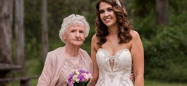 89-Year-Old Steals The Show As A Bridesmaid At Her Granddaughter's Wedding