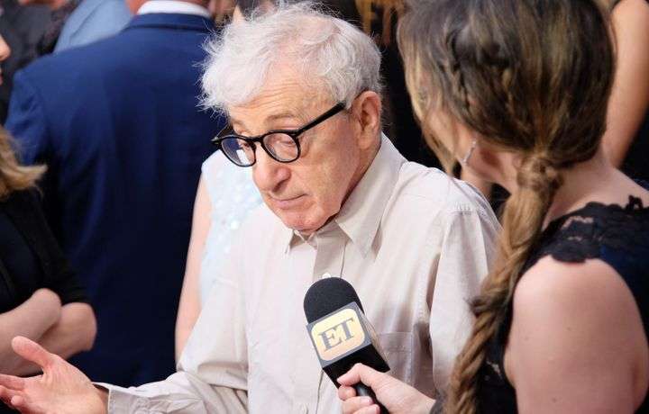 "Woody Allen attends a screening of ""Cafe Society"" on July 13 in New York City."