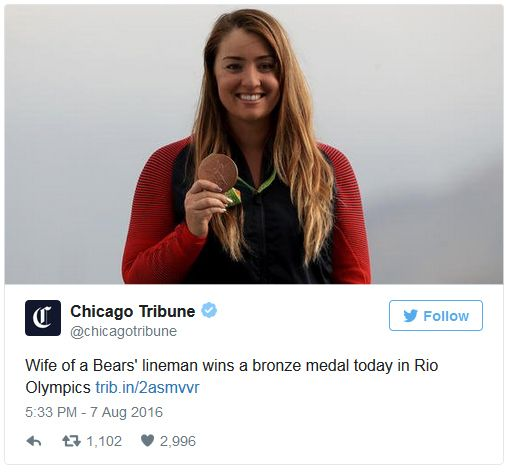A true champion, that Bears' lineman.