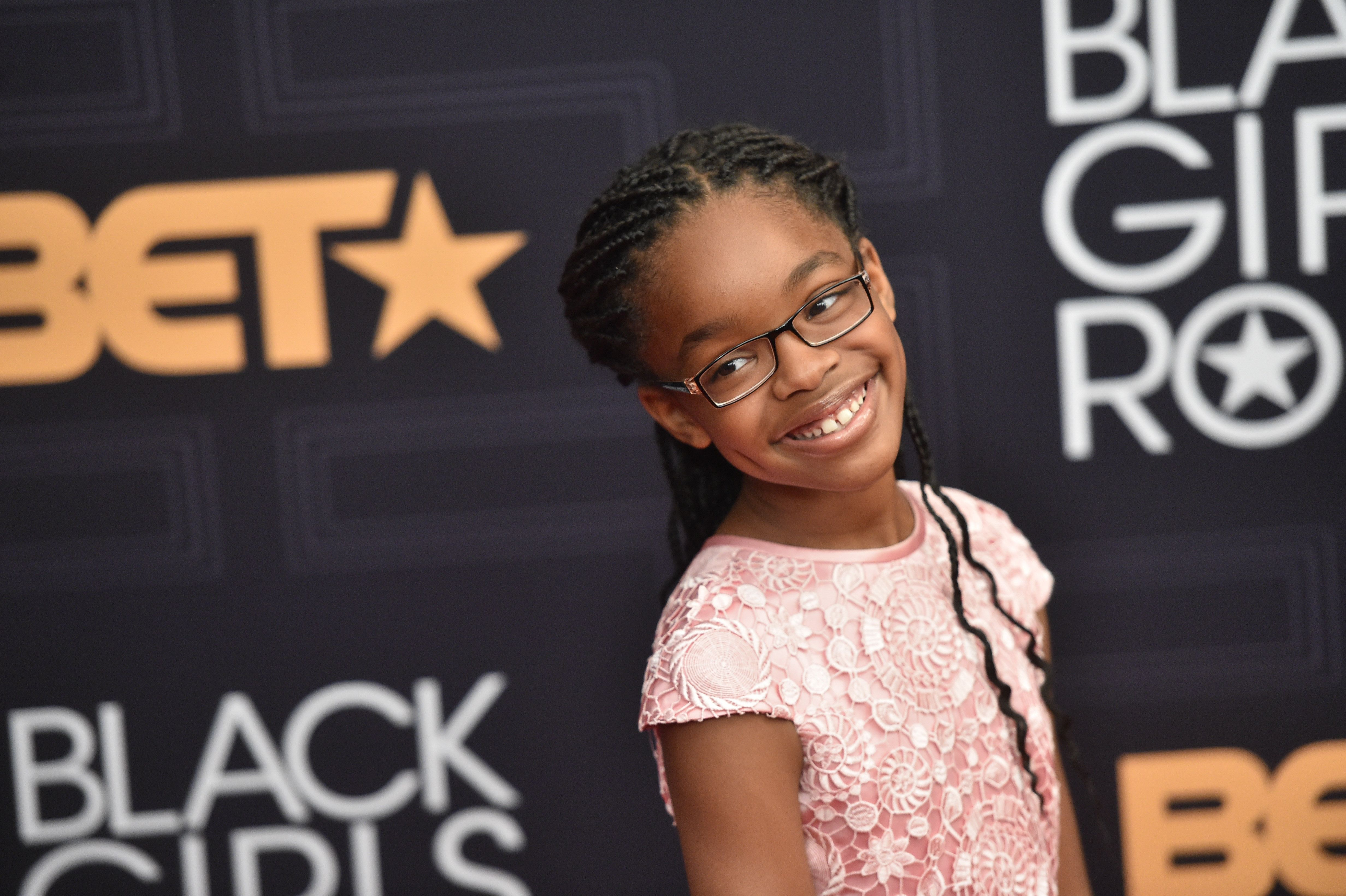 NEWARK, NEW JERSEY - APRIL 01: Marsai Martin attends Black Girls Rock! 2016 at New Jersey Performing Arts Center on April 1, 2016 in Newark, New Jersey. (Photo by Paras Griffin/Getty Images)