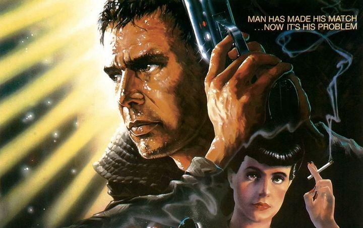 """The 1982 poster for """"Blade Runner."""""""