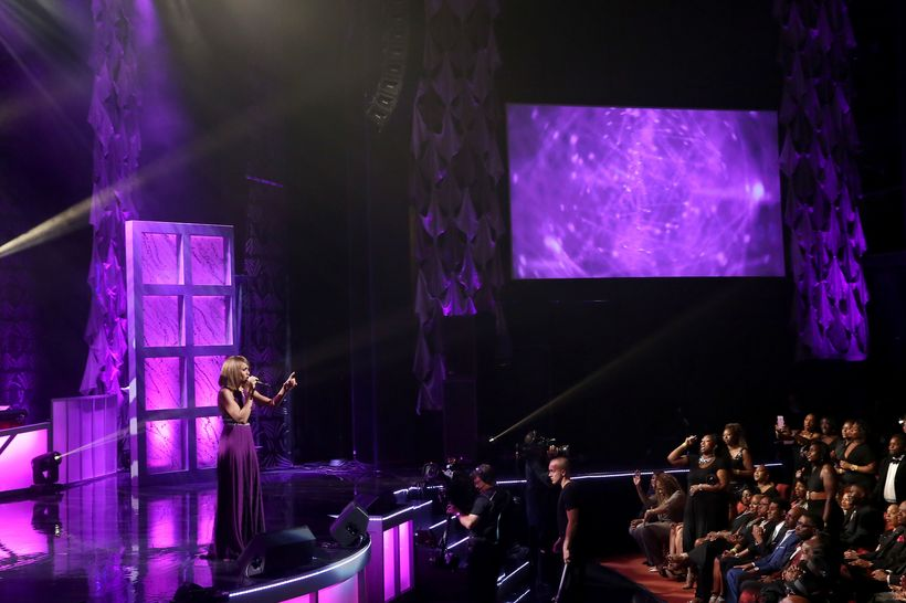 Deborah Cox performs during the NMAAM 2016 Black Music Honors on August 18, 2016 in Nashville, Tennessee.