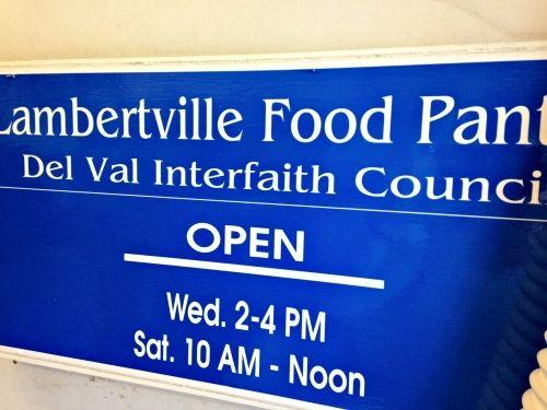 Lambertville Food Pantry, Lambertville, NJ