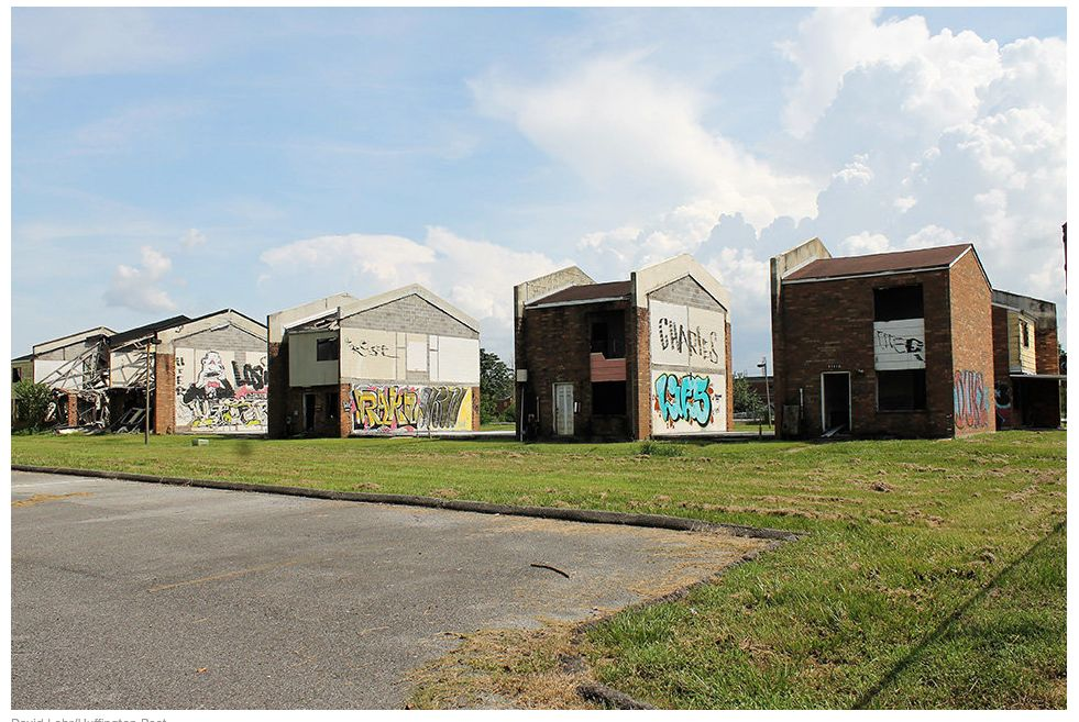 Eleven years after Hurricane Katrina devastated the Crescent City, abandoned, flood-damaged homes with shattered windows, buc