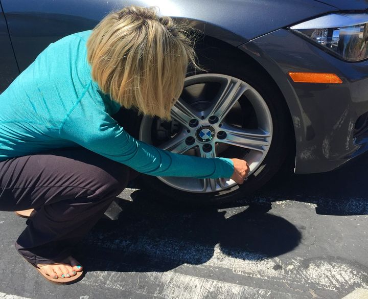 When tires are not properly inflated, it causes fuel efficiency to drop.