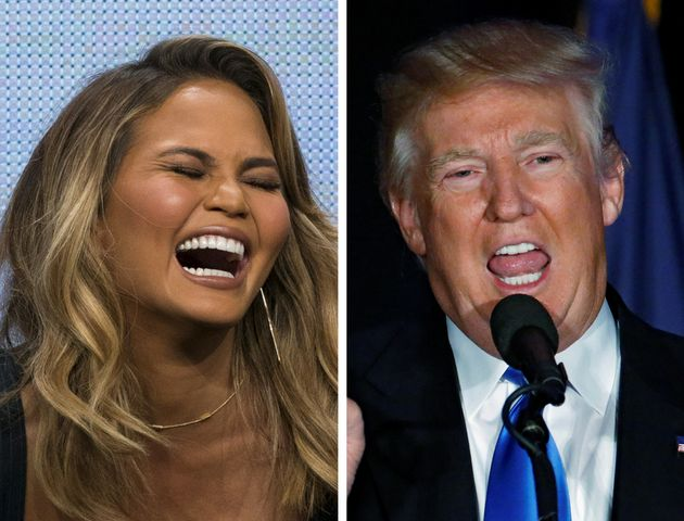 Chrissy Teigen Not-So-Subtly Likens Donald Trump To An ...