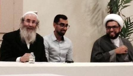 Interfaith seminars have potential to build bridges--Lee Weissman @jihadijew and myself.