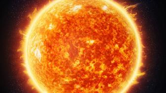 Sun and stars (Nasa imagery)