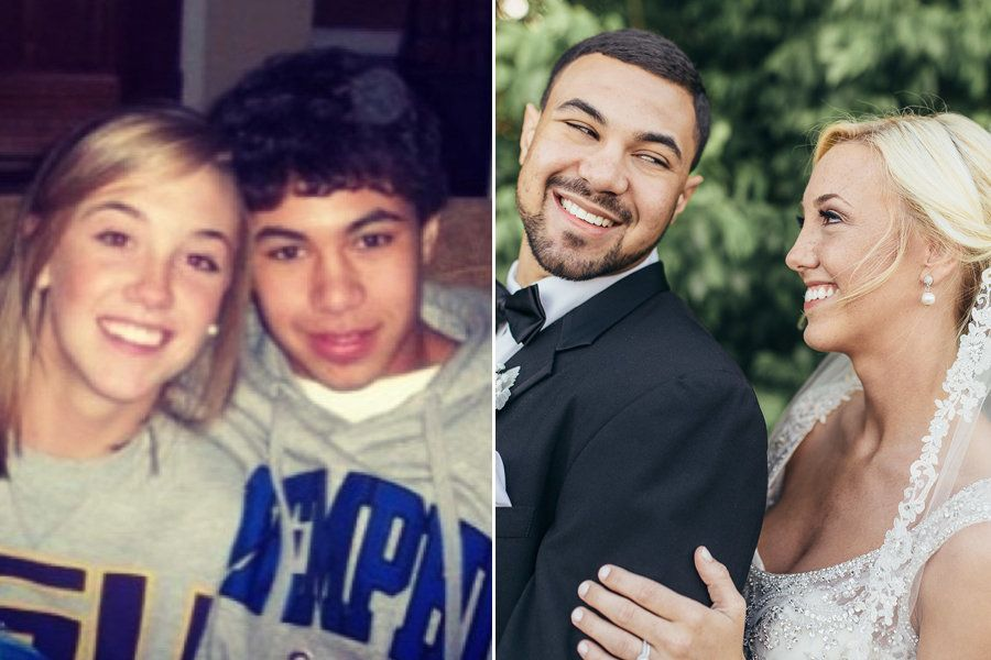 Marrying high school sweetheart later in life