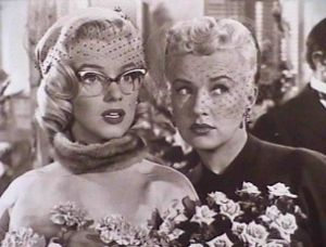 Marilyn Monroe and co-star Betty Grable n&nbsp;<i>How to Marry A Millionaire&nbsp;</i>