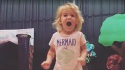 Adorable Little Girl Sings Cutest Version Of The Alphabet Song