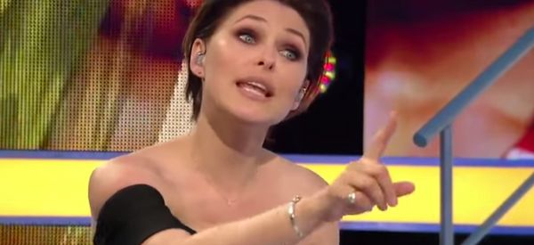 Emma Willis Clashes With Bear During 'CBB' Interview