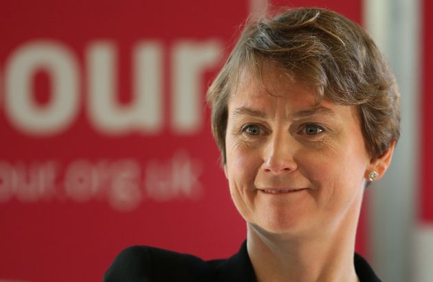 Yvette Cooper, former shadow home secretary, was with her husband when the mix-up