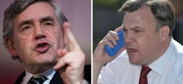 Ed Balls Reveals Hilariously Confusing Christmas Phone Call From Gordon Brown