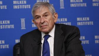 Paul Wolfowitz, former president of the World Bank Group, listens during the annual Milken Institute Global Conference in Beverly Hills, California, U.S., on Monday, May 2, 2016. The conference gathers attendees to explore solutions to today's most pressing challenges in financial markets, industry sectors, health, government and education. Photographer: Patrick T. Fallon/Bloomberg via Getty Images