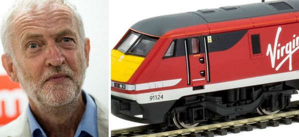 A Model Train Company Just Trolled Jeremy Corbyn With Its Latest Virgin Release