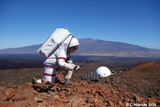 Boredom was hardest part of yearlong dome isolation - NASA crew