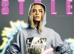 Cara Delevingne Exposes 'Lady Garden' To Raise Awareness of Gynaecological Cancers