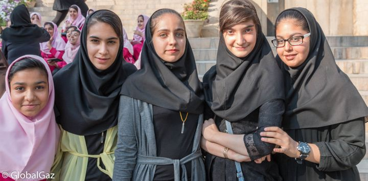 The friendly faces of Iran.